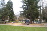 Play area at Monroe Park