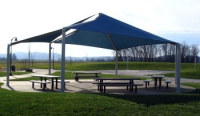 Bethel covered picnic area