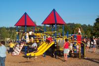 Playpark at Churchill