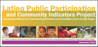Latino Public Participation and Community Indicators Project