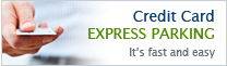 Credit Card Express Parking - It is fast and easy