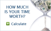 How Much Is Your Time Worth - Calculate