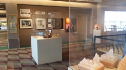 LCC Art Gallery display at the GATA