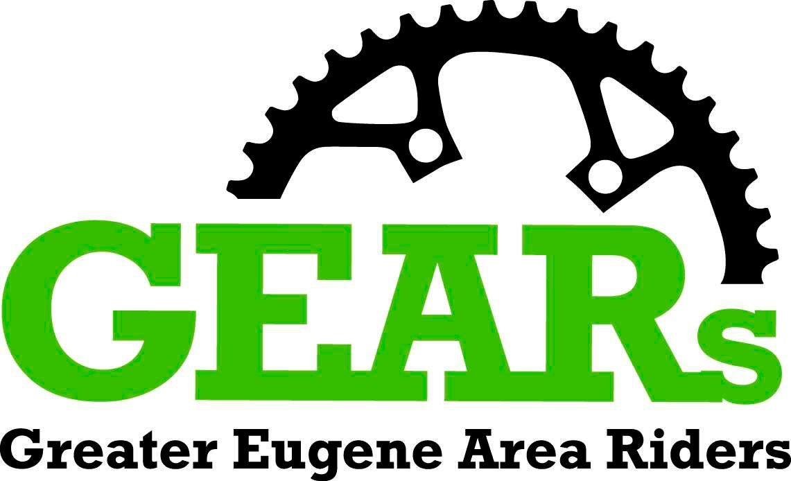 GEARS Greater Eugene Area Riders Logo
