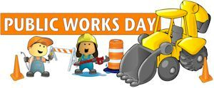 Public Works Day is May 16