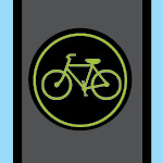 bike traffic signal graphic