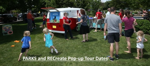 PARKS and RECreate pop-up tour dates