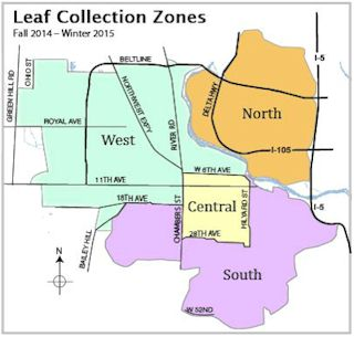 2014 Leaf Zone Map