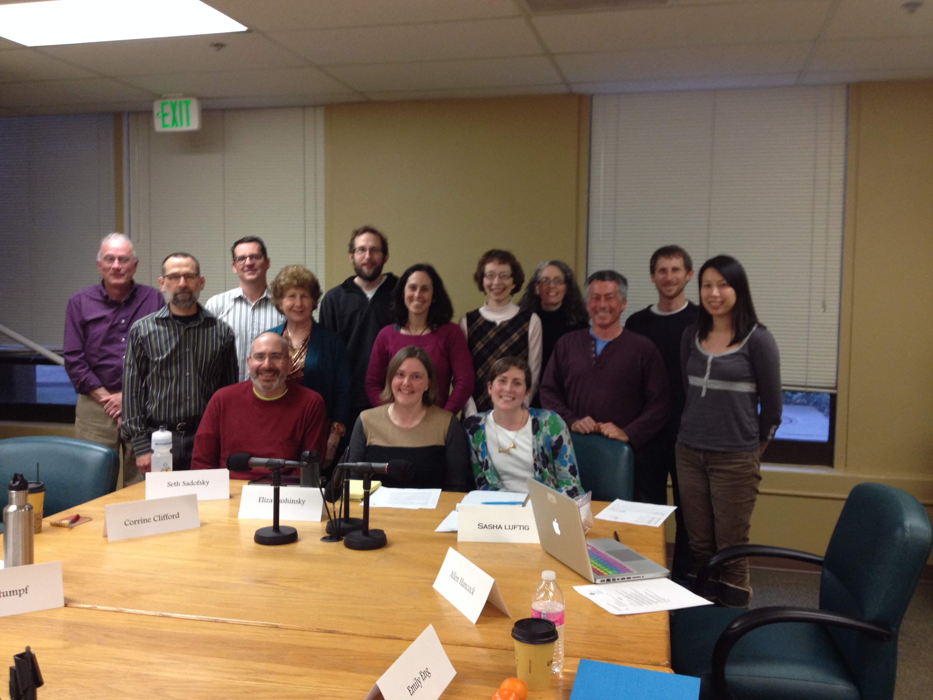 2014  Bicycle Pedestrian Advisory Committee Photo